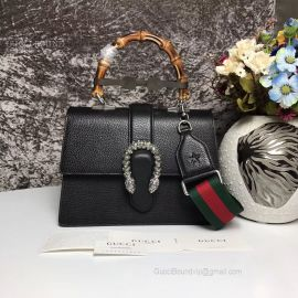 Gucci Dionysus Medium Top Handle Bag Black 448075
