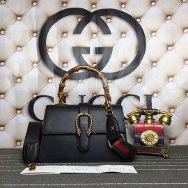 Gucci Dionysus Medium Top Handle Bag Deep Black 448075