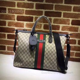 Gucci Web GG Supreme Duffle Black 359261