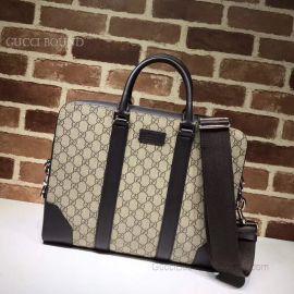 Gucci GG Supreme Briefcase Black 474135