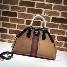 Gucci ReBelle Medium Top Handle Bag Khaki 516459