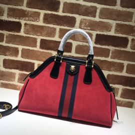 Gucci ReBelle Medium Top Handle Bag Red 516459