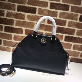 Gucci ReBelle Medium Top Handle Bag Black 516459