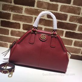 Gucci ReBelle Medium Top Handle Bag Wine 516459