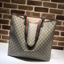 Gucci Shopping Tote Top Quality Brown 517419