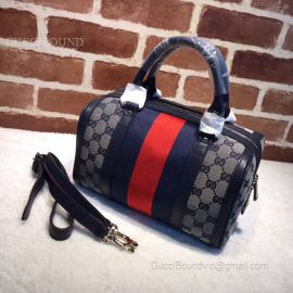 Gucci Vintage Web Original GG Boston Bag Red 269876