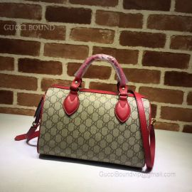 Gucci Red GG Small Top Handle Bag 409529