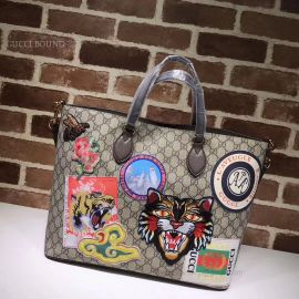 Gucci GG Supreme Tote Tiger Head 453705