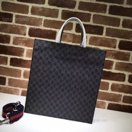 Gucci Men Soft GG Supreme Tote Tiger And Snake 495559