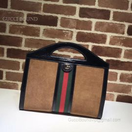 Gucci Ophidia Medium Top Handle Tote Coffee 512957