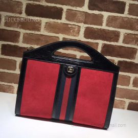 Gucci Ophidia Medium Top Handle Tote Red 512957