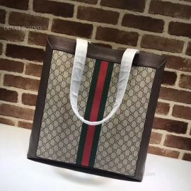 Gucci Ophidia Soft GG Supreme Large Tote Brown 519335