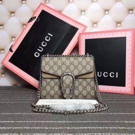 Gucci Dionysus GG Supreme Mini Bag Coffee 421970