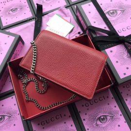 Gucci Dionysus Calfskin Leather Shoulder Bag Red 476430
