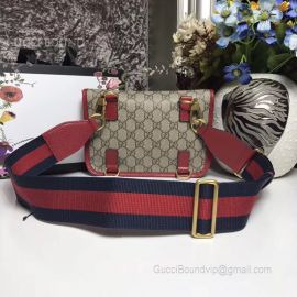 Gucci Guccitotem Web GG Supreme Messenger Bag Red 489617