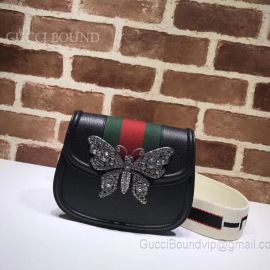 Gucci Totem Small Shoulder Bag Black 505387