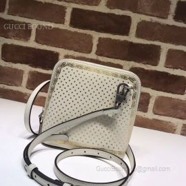 Guccy Mini Shoulder Bag White 511189