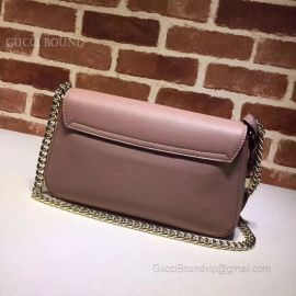 Gucci Soho Leather Chain Shoulder Bag Nude 336752