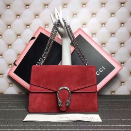 Gucci Dionysus Medium GG Shoulder Bag Red 400235