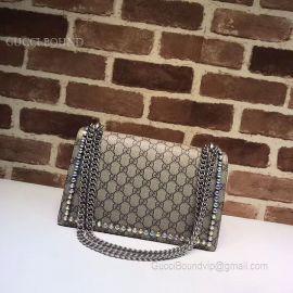 Gucci Dionysus GG Small Crystal Shoulder Bag 400249