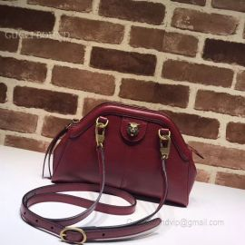 Gucci Rebelle Small Shoulder Bag Wine 524620