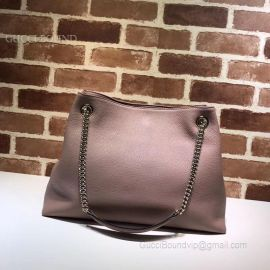 Gucci Soho Leather Shoulder Bag Lavender 308982
