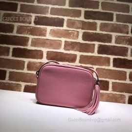 Gucci Soho Small Leather Disco Pink Bag 308364