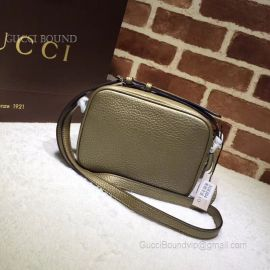 Gucci Soho Small Leather Disco Bronze Bag 308364
