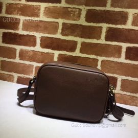 Gucci Soho Small Coffee Leather Bag 308364