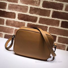 Gucci Soho Small Leather Light Brown Bag 308364