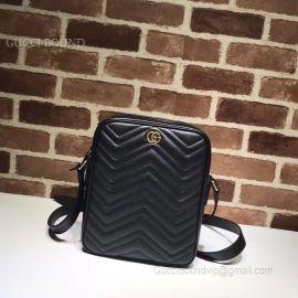 Gucci GG Marmont Messenger Bag Black 523365