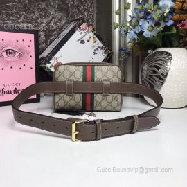 Gucci Ophidia GG Supreme Small Belt Bag Brown 517076