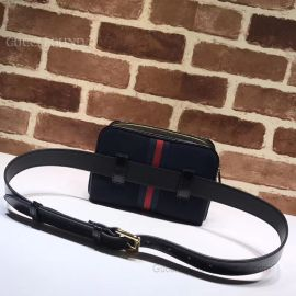 Gucci Ophidia Small Belt Bag Dark Blue 517076