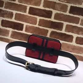 Gucci Ophidia Small Belt Bag Dark Red 517076