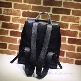 Gucci GG Marmont Leather Backpack Black 429007