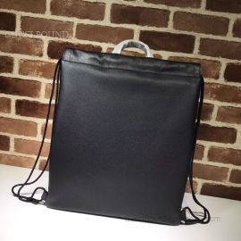 Gucci Coco Capitan Logo Backpack Black 494053