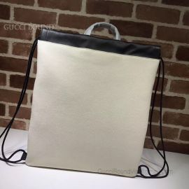 Gucci Coco Capitan Logo Backpack White 494053