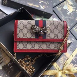 Gucci Queen Margaret GG Mini Bag Red 476079