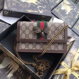 Gucci Queen Margaret GG Mini Bag Brown 476079