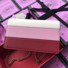 Gucci Queen Margaret Leather Mini Three Colours Bag 476079