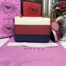 Gucci Queen Margaret Leather Handbag Three Colours 476542
