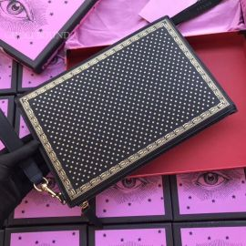 Guccy Leather Pouch Black 510489