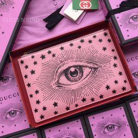 Gucci Calfskin Pouch Pink 516928