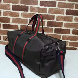 Gucci Technical Canvas Duffle Black 450983