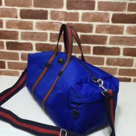 Gucci Technical Canvas Duffle Blue 450983