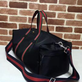 Gucci Technical Canvas Black Duffle 450983