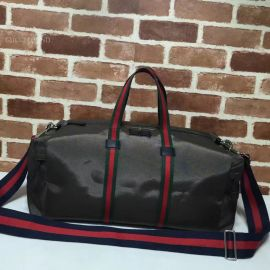 Gucci Technical Black Canvas Duffle 450983