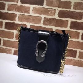 Gucci Dionysus Medium Bucket Navy Bag 499622
