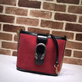 Gucci Dionysus Medium Bucket Bag Red 499622