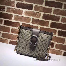 Gucci Dionysus Medium GG Bucket Bag Khaki 499622